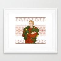 Very Merry Cullen Framed Art Print