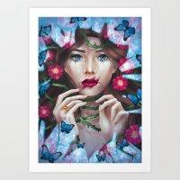 The Wild Rose Art Print