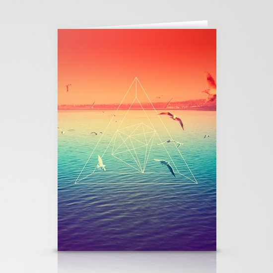 Lapse In Perception Stationery Card