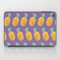 Pineapple Watercolor iPad Case