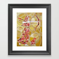 Pop Artemis Framed Art Print