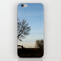 Chairs for Two iPhone & iPod Skin