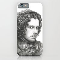 iPhone & iPod Case featuring Jon Snow | Game of Thrones by Olechka