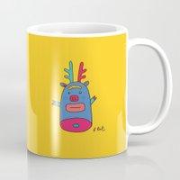 Rudolph Pig Mug