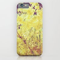 yellow flower - Forsythia iPhone 6 Slim Case