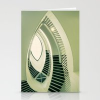 teardrop stairs Stationery Cards
