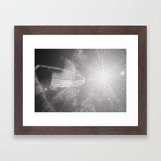 blue angels 2, pensacola Framed Art Print
