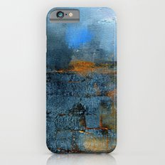 blue cloud iPhone 6 Slim Case