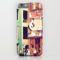 iPhone & iPod Case featuring Ernest Tube Record Shop by hcase