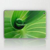 Leaf / Hosta With Drop (… Laptop & iPad Skin