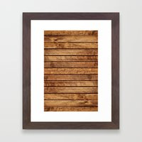 PLANKS Framed Art Print