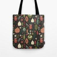 Holiday Ornaments  Tote Bag
