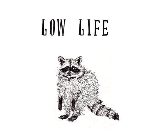 """Low Life"" Canvas Print"