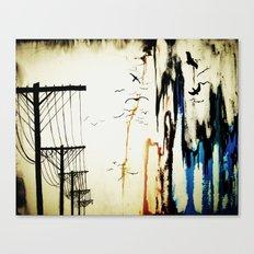 pylons Canvas Print