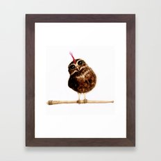Rock on! Framed Art Print