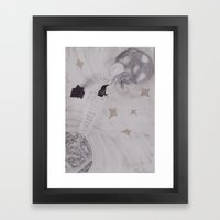 In Dreams We Can Do Anything Framed Art Print