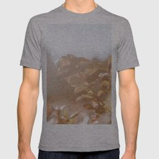 autumn on plantation Mens Fitted Tee Athletic Grey SMALL