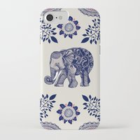 elephant iPhone & iPod Cases featuring Elephant Pink by rskinner1122