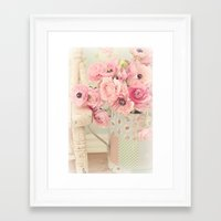 Sweet and Lovely Framed Art Print