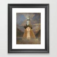 Rapunzel's Tower Framed Art Print