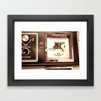 Vintage Laundry Framed Art Print