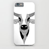 cow iPhone & iPod Cases featuring Cow by Art et Be