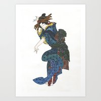 japanese Art Prints featuring japanese by Maria Durgarian