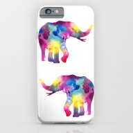 Abstract Elephant iPhone 6 Slim Case