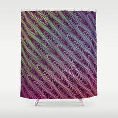 Cosine Wave Shower Curtain
