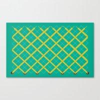 Laces Canvas Print