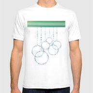 Enjoy The Holidays Mens Fitted Tee White SMALL