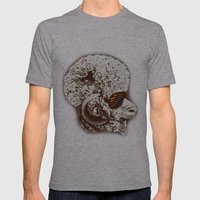 Funky sheep Mens Fitted Tee Athletic Grey SMALL
