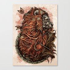 Lionnnn Canvas Print