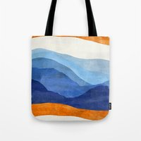 Mountains in the Morning Tote Bag