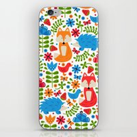 Fox Forest iPhone & iPod Skin