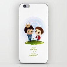 Sterek - Hale Kingdom iPhone & iPod Skin