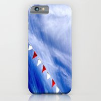 iPhone & iPod Case featuring Red, White, and Blue by Maite Pons