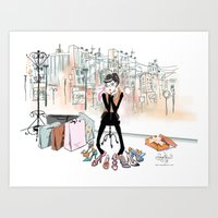 Shoe Boutique Art Print