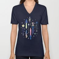 Magical Weapons Unisex V-Neck
