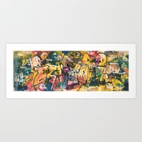 Graffiti Spot Art Print