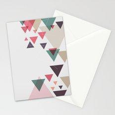 Triângulos ligados Stationery Cards