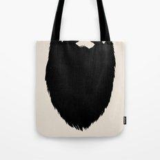 Fake Beard Tote Bag