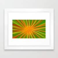 Color Explosion Framed Art Print