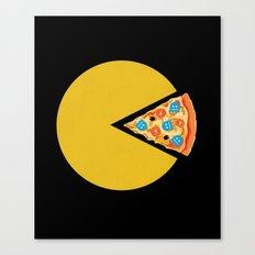Pizza-Man Canvas Print