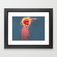 Avantgarde Framed Art Print