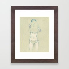 Dec. Framed Art Print