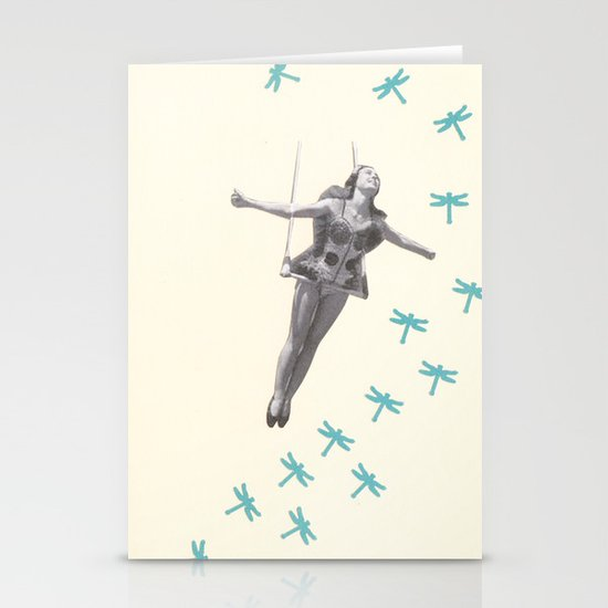 Oh to be a Dragonfly Stationery Card