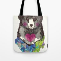 Bear Yeah Tote Bag