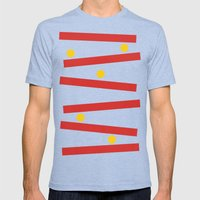 The Rise Of Kong Mens Fitted Tee Tri-Blue SMALL