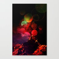It All Started with a Bang Canvas Print